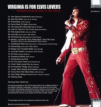 Elvis New Cd 2019