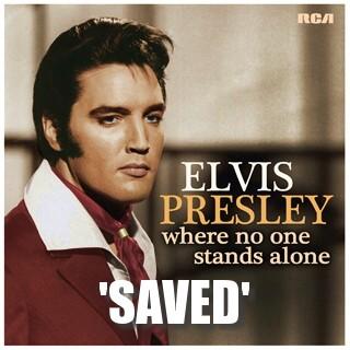 Elvis Presley American Eagle Single Drinks Coaster Gift Band Album Fan
