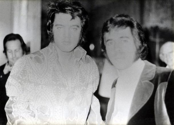 Ann-Margret at Elvis Funeral