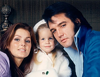 Elvis Presley and Wife