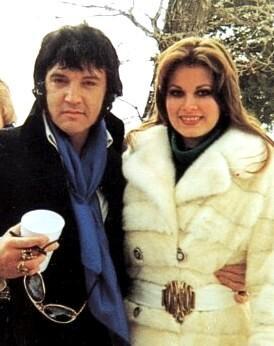 Elvis és Ginger Alden 1976 végén