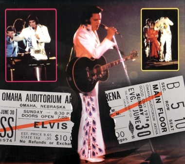 ELVIS Omaha Nebraska '74' FTD CD  EIN in-depth review