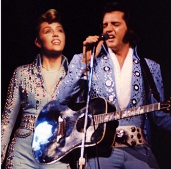 Image result for elvis presley duet with a woman