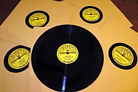 Elvis SUN 78rpm Vinyl Special Release