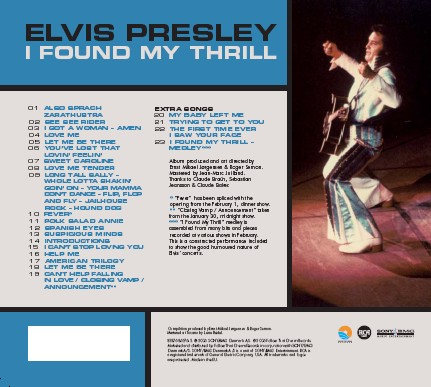 I Found My Thrill Cd Review Elvis Information Network