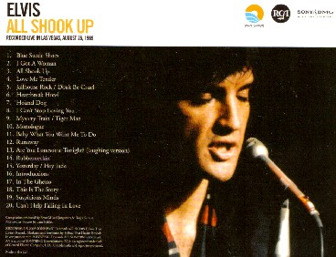 All Shook Up Cd Review Elvis Information Network