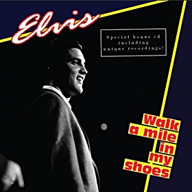 walk a mile in my shoes book cd review elvis