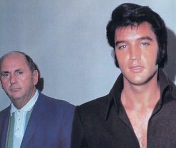 Parker és Elvis 1969-ben Vegasban