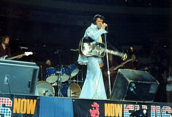 Elvis At Madison Square Garden Forty Years On Ein