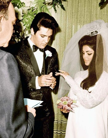 The Wedding   Elvis And Priscilla   EIN Spotlight By Marty Lacker   Elvis  Information Network