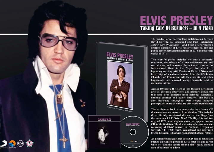 elvis taking care of business in a flash ftd book cd ein review
