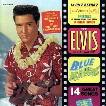 Image result for Elvis Blue Hawaii soundtrack