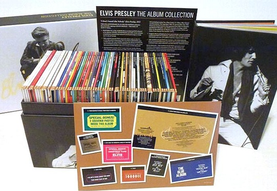 Elvis Presley The Album Collection Ein Review By