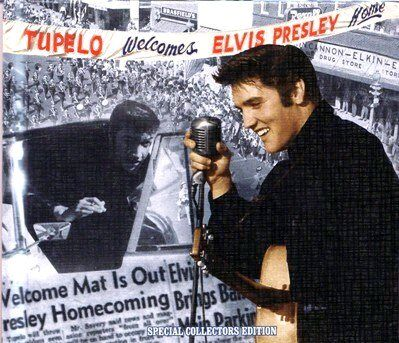 tupelo welcomes elvis presley home mrs book cd review elvis