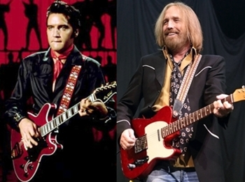 Image result for images of  tom petty and elvis presley
